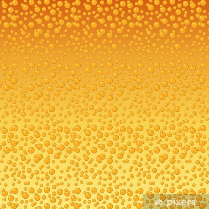 Plakat Piwa bąbelki w tle - Tekstury