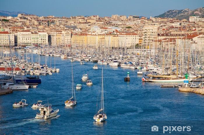 Pixerstick Sticker Marseille Vieux Port - iStaging