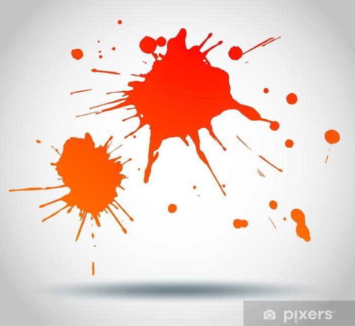 Sticker Peinture Eclaboussure Pixers Nous Vivons Pour Changer