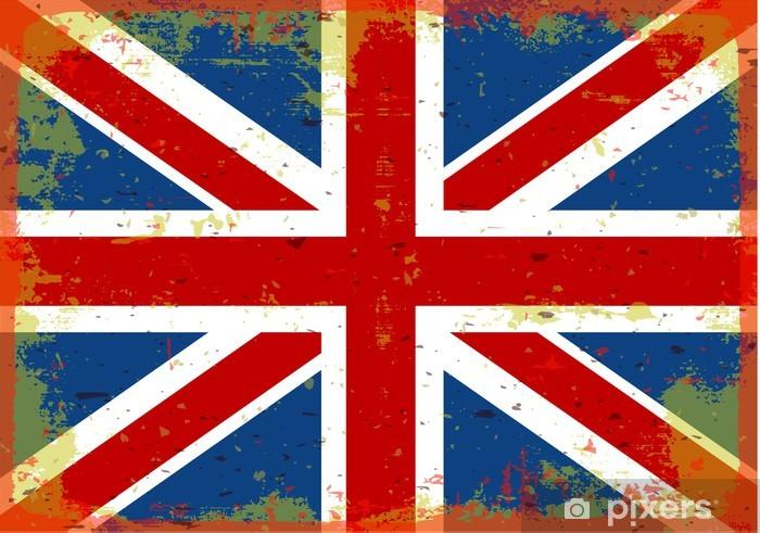 Ingiltere Bayrağı Duvar Resmi Pixers Haydi Dünyanızı Değiştirelim