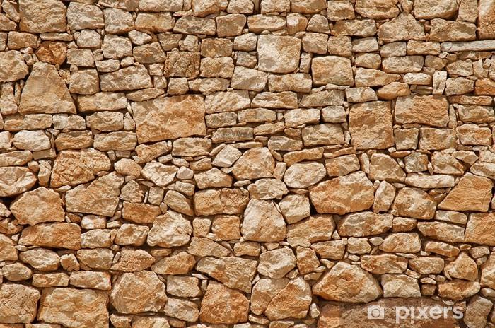 Pixerstick Sticker Stenen muur - Texturen