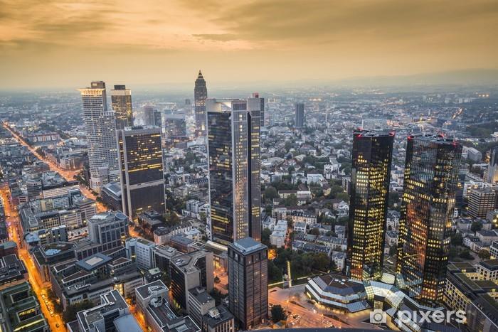 Fototapeta winylowa Frankfurt nad Menem, Niemcy - Niemcy