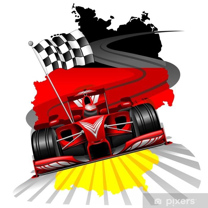 Fototapeta winylowa Formuła 1 GP Niemiec - Tematy