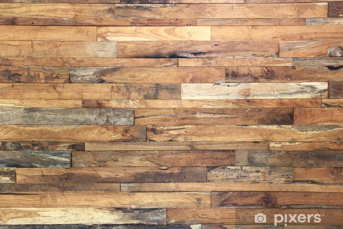 wood texture background Vinyl Wall Mural - Themes