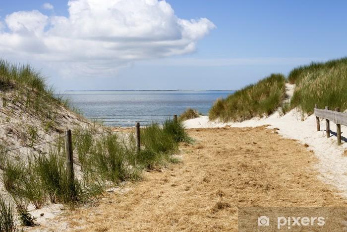Beach/ Ameland Pixerstick Sticker - Themes