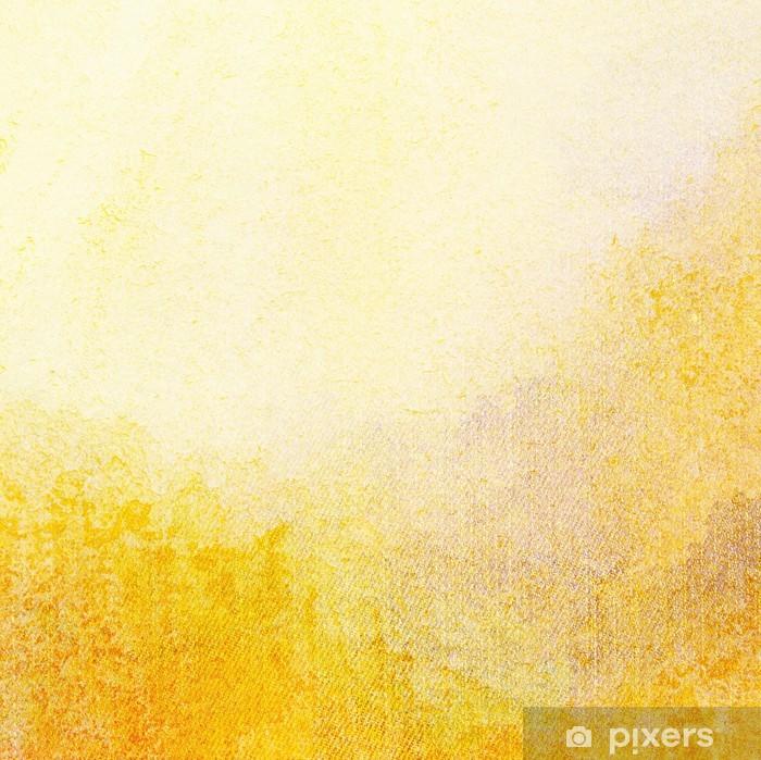 Fototapet av vinyl Abstrakt malte akvarell bakgrunn - Tekstur på overflaten