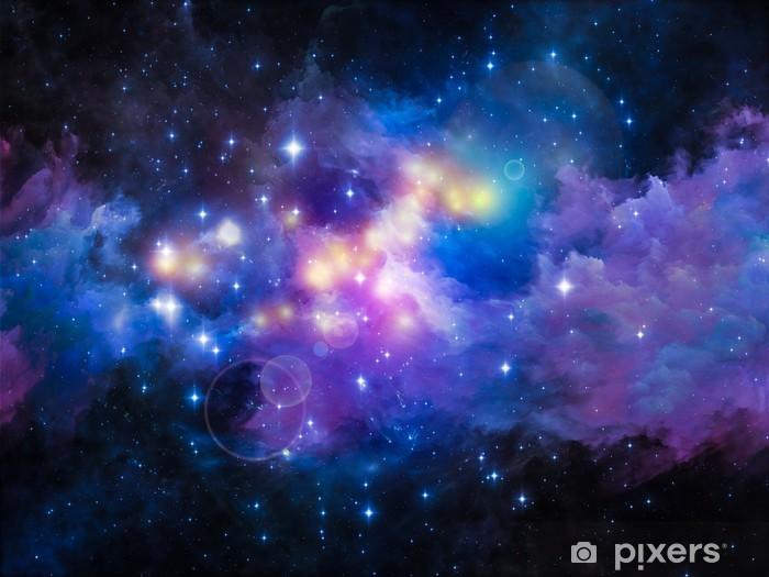 Pixerstick Sticker Metaforische Nebula - Heelal