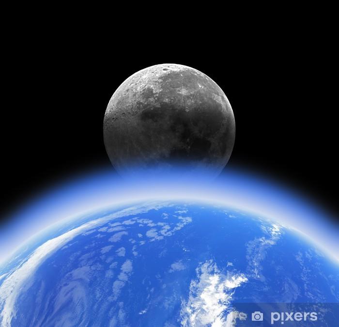 Afbeeldingsresultaat voor aarde en maan