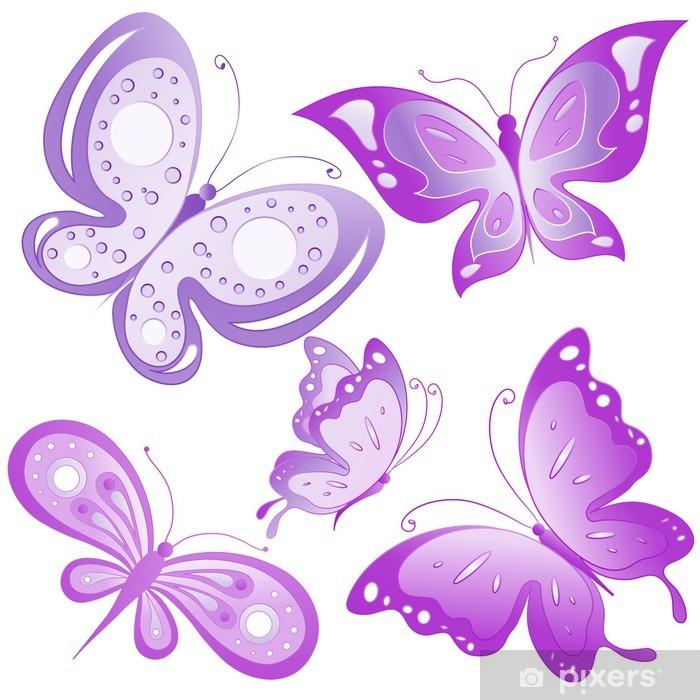 Carta da parati farfalle di design pixers viviamo per for Carta parati vinile