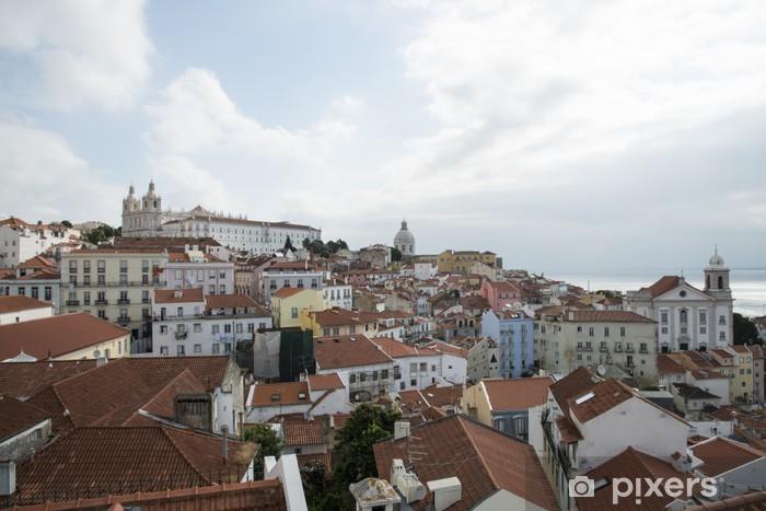 Nálepka Pixerstick Lisbona - Evropská města