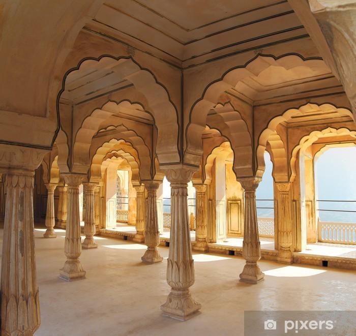 Nálepka Pixerstick Sloupce v paláci - Jaipur Indie - Témata