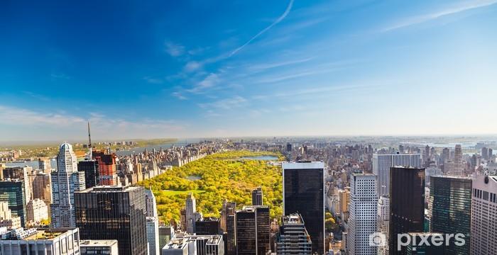Nálepka Pixerstick Pohled na Central Parku v New Yorku - Americká města
