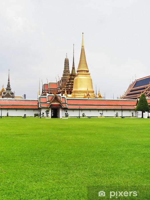 Fototapeta winylowa Świątynia Szmaragdowego Buddy w Bangkoku - Europa