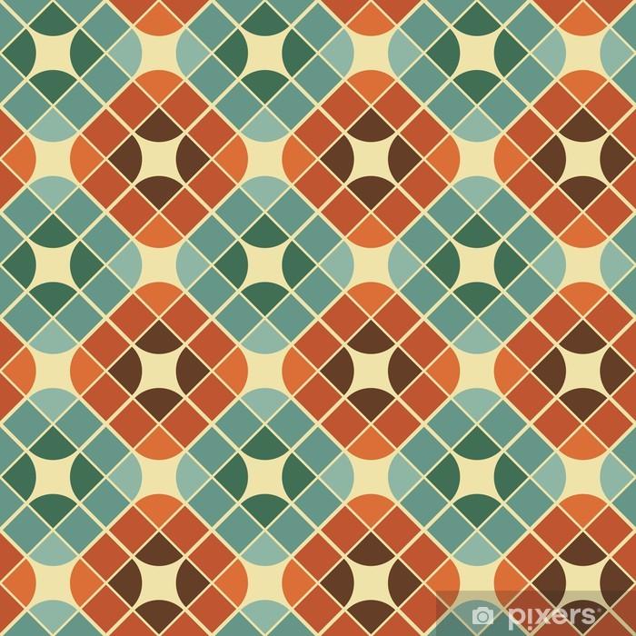 Papier peint vinyle Tuiles colorées abstraites seamless pattern. - Styles