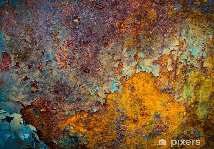 Papier peint vinyle Le noyau de la corrosion - Styles