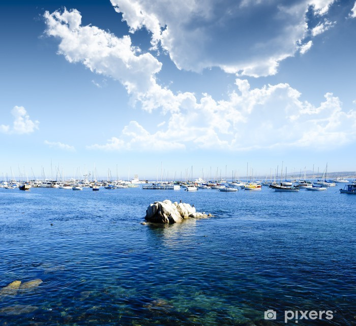 Naklejka Pixerstick Monterey Bay california - Ameryka