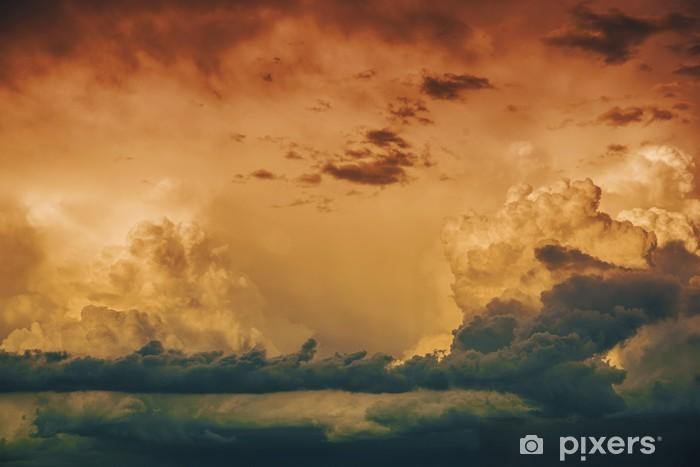 Fototapeta zmywalna Burzliwy Horizon - Tła