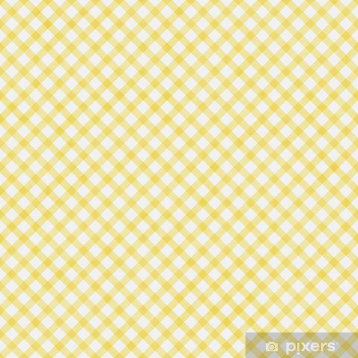 Naklejka Pixerstick Pale Yellow Plecionka Powtórz wzór tła - Wartości rodzinne