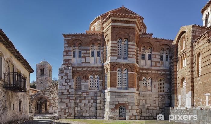 Hosios loukas luostari. Distomo, Kreikka Vinyyli valokuvatapetti - Euroopan Kaupunkeja
