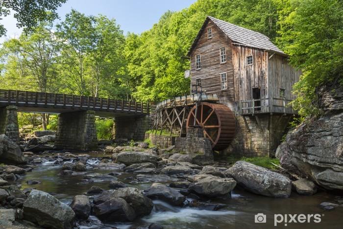 Vinyl-Fototapete Glade Creek Grist Mill - Infrastruktur