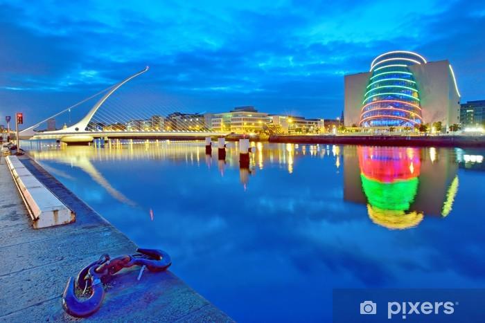 Fotomural Lavable Puente de Samuel Beckett en Dublín - Temas