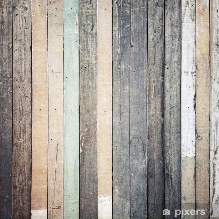Sticker Pixerstick Texture de bois - Thèmes