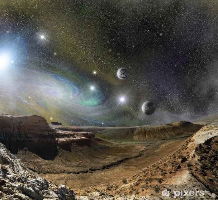 Plakát Krajina hory a vesmír vesmírných - Osud