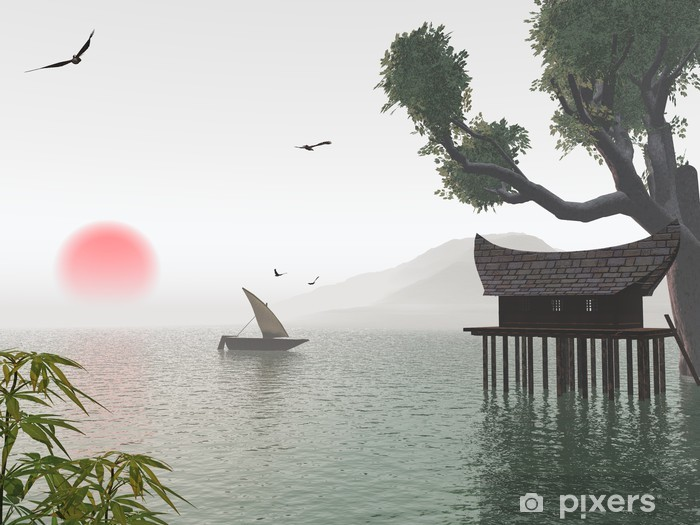 Adesivo Pixerstick Sogno giapponese - Giappone