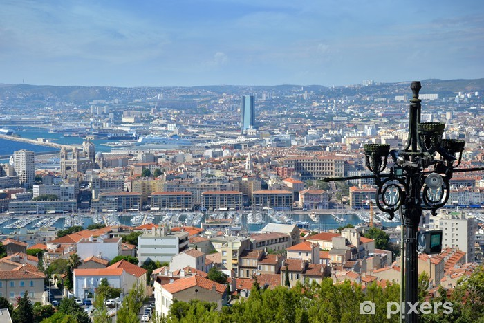 Fototapeta winylowa Powierzchnia podana naszą opiekę Marsylia - Europa