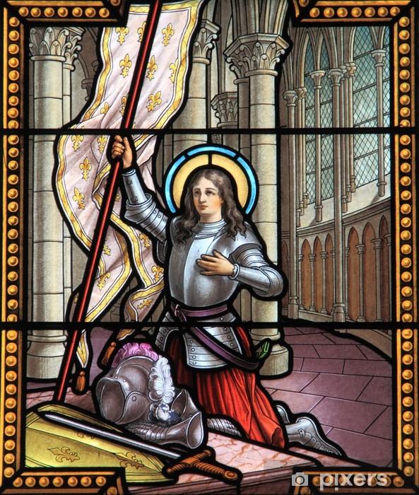 Jeanne d'Arc Vinyl Wall Mural - Religion