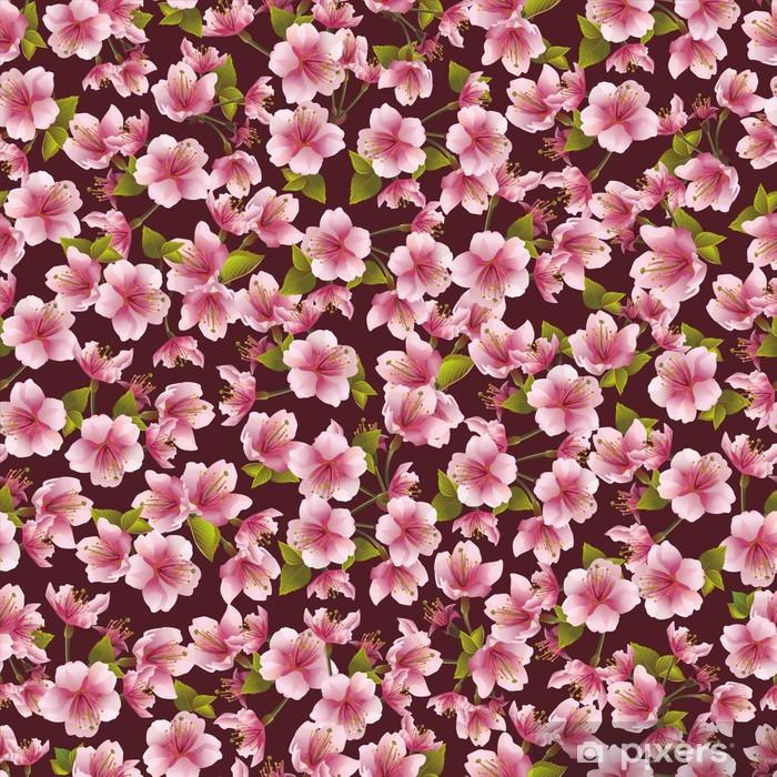Fototapeta winylowa Tła bez szwu z Sakura kwiat - Tekstury