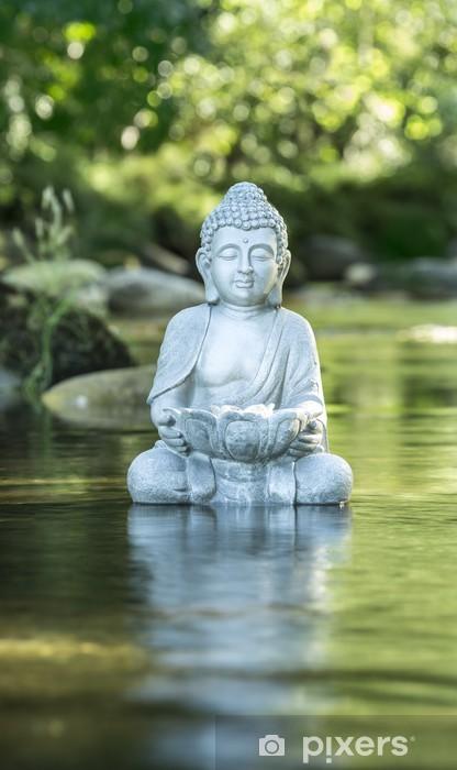 Pixerstick Sticker Boeddha en Welzijn - Schoonheid en Lichaamsverzorging