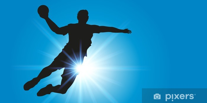 Klesskapklistremerke Håndball - Lagidrett