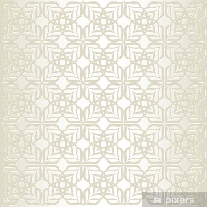 Vinyl-Fototapete Hintergrund mit Muster - Stile