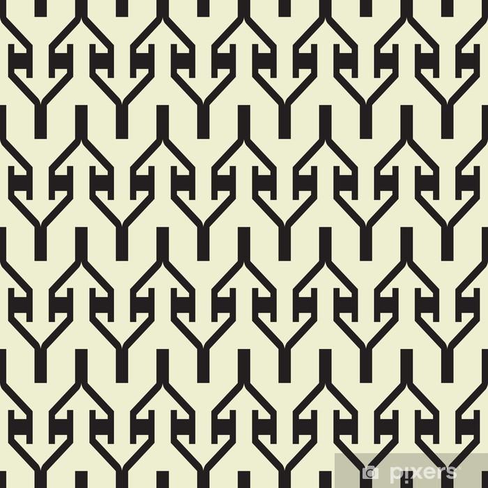 Vinyl Fotobehang Abstract geometrische naadloze patroon achtergrond - Achtergrond