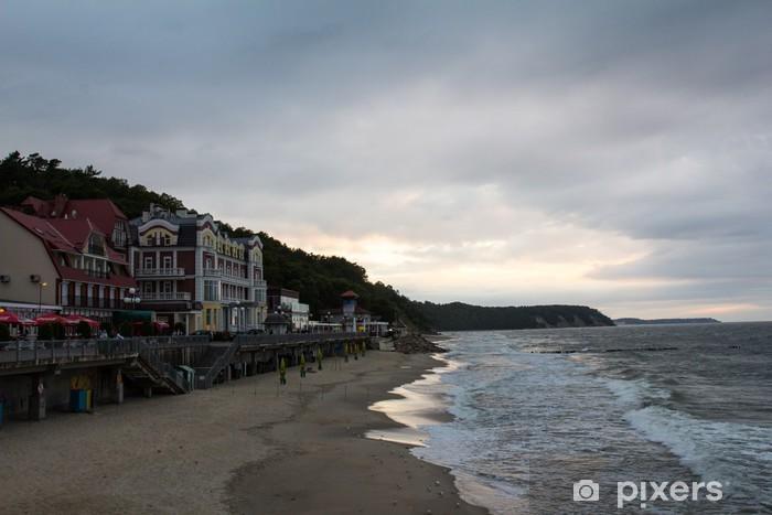 Fotomural Estándar Шторм на закате - Vacaciones