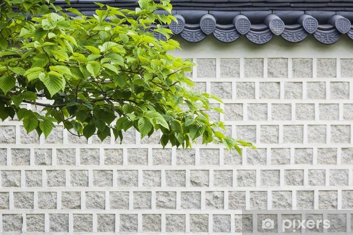Fototapeta winylowa Tradycyjne ściany, korea - Azja