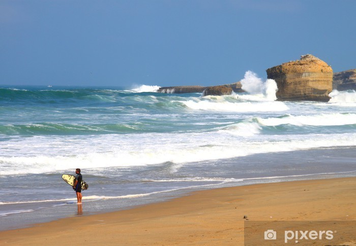 Vinylová fototapeta Plage de Biarritz, Pays Basque - Vinylová fototapeta