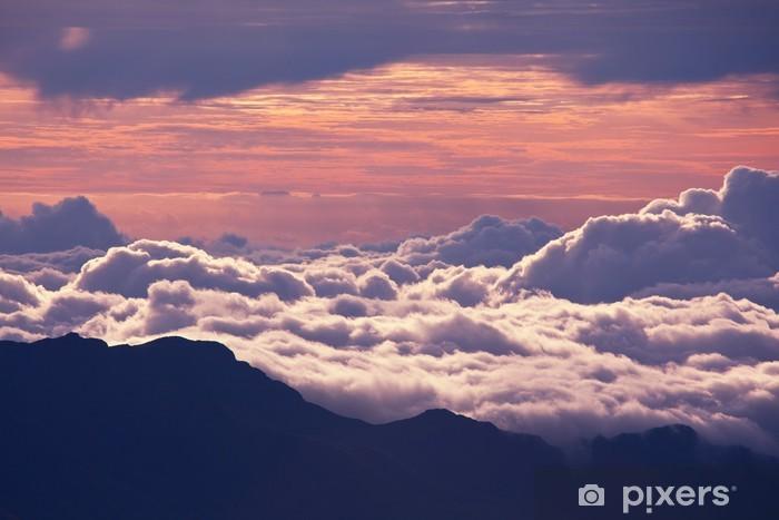 Zelfklevend Fotobehang Boven de wolken - Thema's