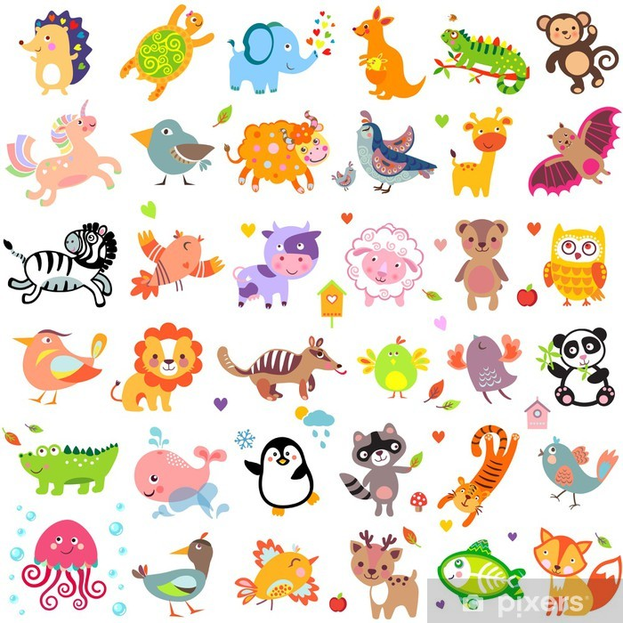 Papier peint vinyle AnimalsBigThr -