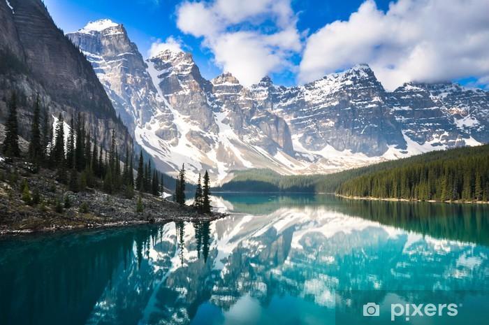 Fototapeta winylowa Moraine Lake, Góry Skaliste, Kanada - Tematy