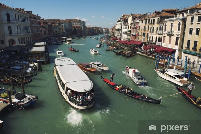 Vinyl-Fototapete Grand Canal Venedig Morning View - Urlaub
