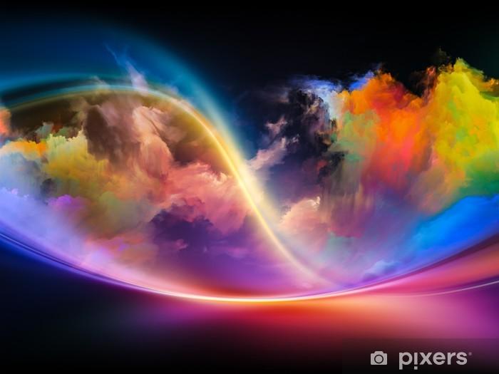 Vinyl Fotobehang Inner Life of Colors - Wonderen der Natuur