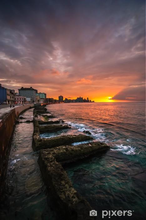 Fototapeta winylowa Hawana nabrzeża słońca - Tematy