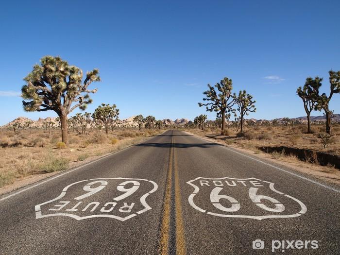 Pixerstick Aufkleber Route 66-Wüste - Themen