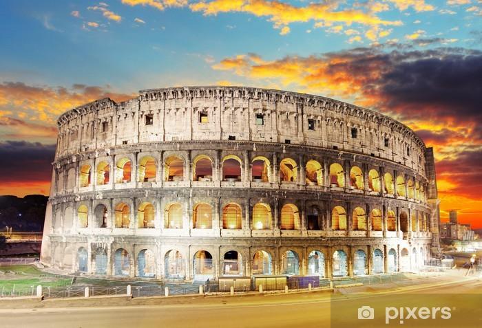 Fototapeta winylowa Rzym Koloseum - Tematy