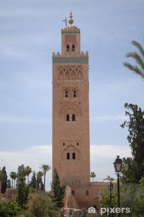 Koutoubia Mosque Marrakech Sticker Pixers We Live To Change
