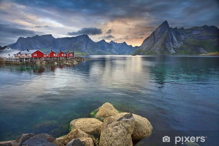 Adesivo Pixerstick Isole Lofoten - Temi