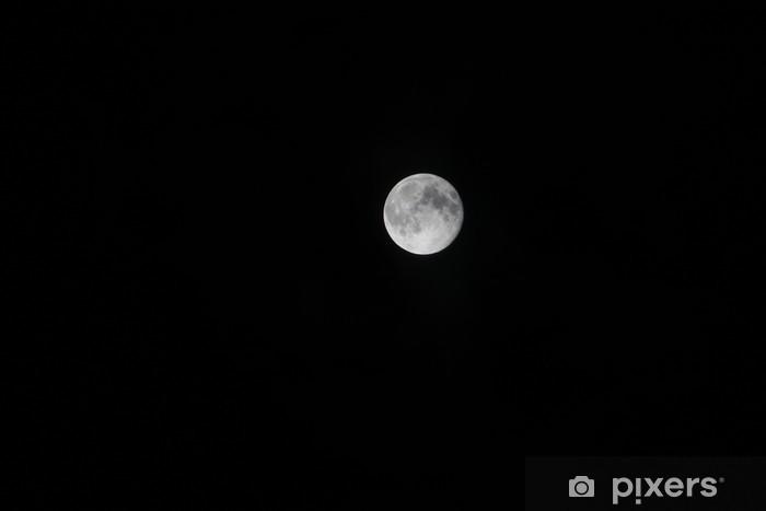 Pixerstick Aufkleber 満 月 - Himmel