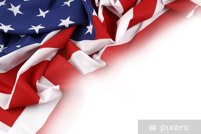 American Flag Wall Mural Pixers We